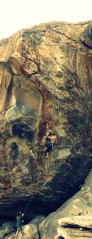 Kletterseil im Test beim Sportklettern